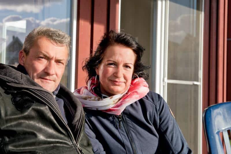 Heike und Mirko zu Ostern an der Müritz