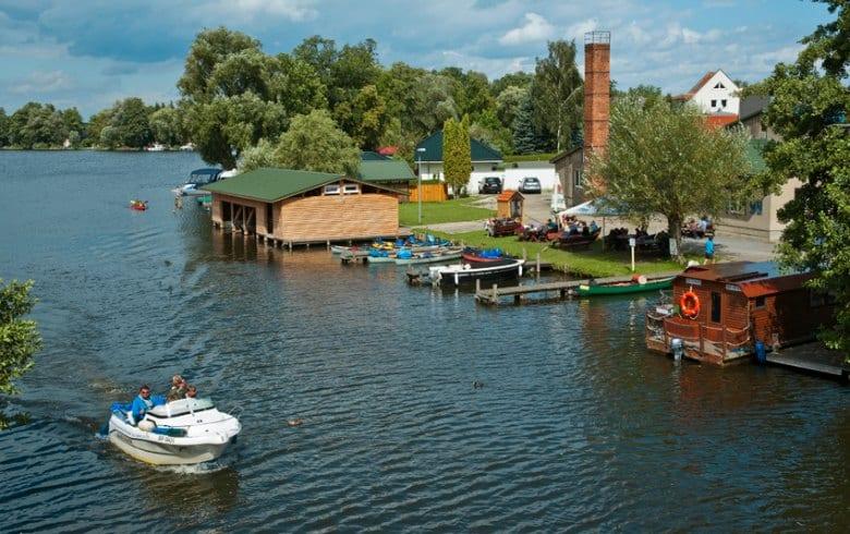 Motorboot Mecklenburgische Seenplatte