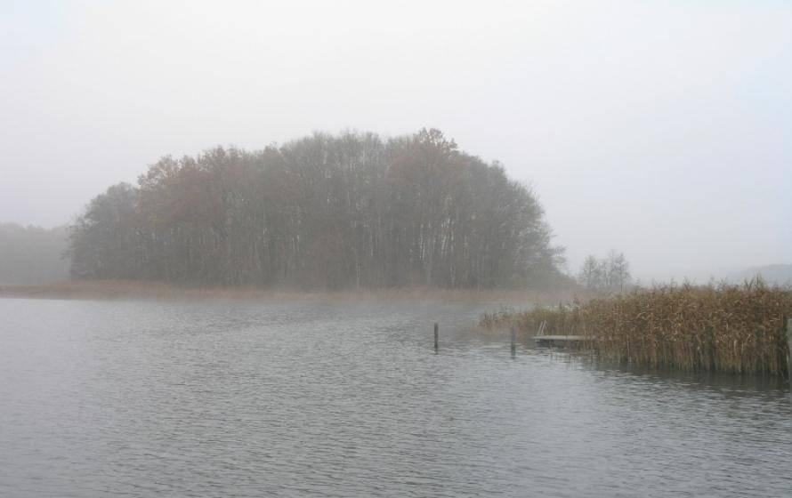 regnerischer See