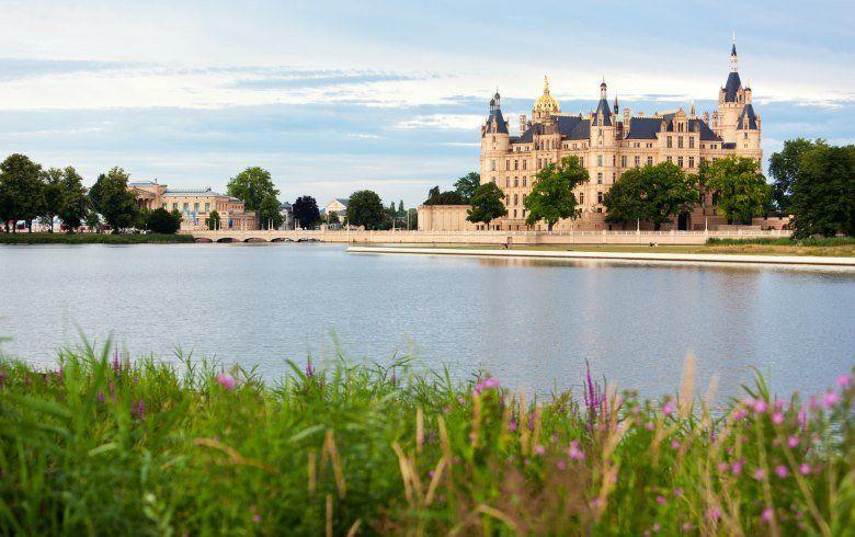 Das Märchenschloss in Schwerin