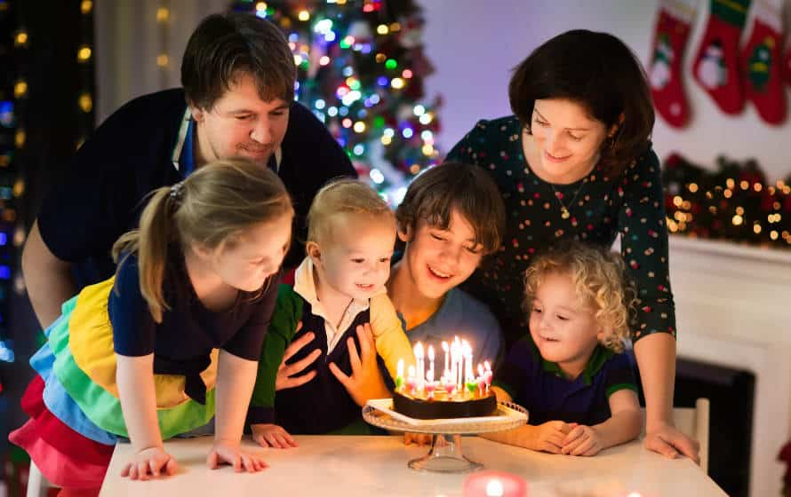 Kinder die an Weihnachten Geburtstag haben - All Season Parks